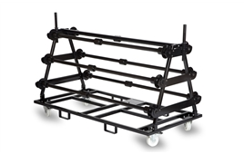 Harlequin vinyl floor storage carts