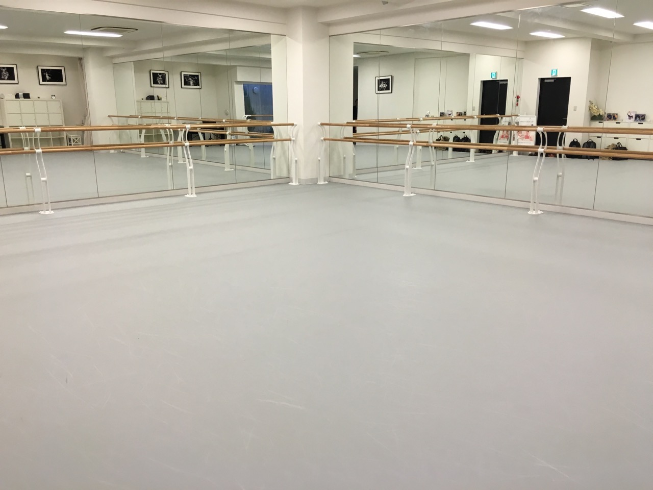Now It Feels Like We Have A Proper Ballet Floor